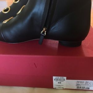 Valentino Shoes - NEW Valentino Nero Ankle boots black leather
